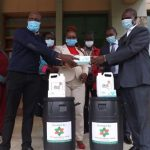 KSC receives donations of medical commodities to curb COVID-19 from Galilee Hospital in Trans-nzoia