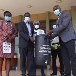 KSC receives donations of medical commodities to curb COVID-19 from Cherangani Hospital in Trans-nzoia